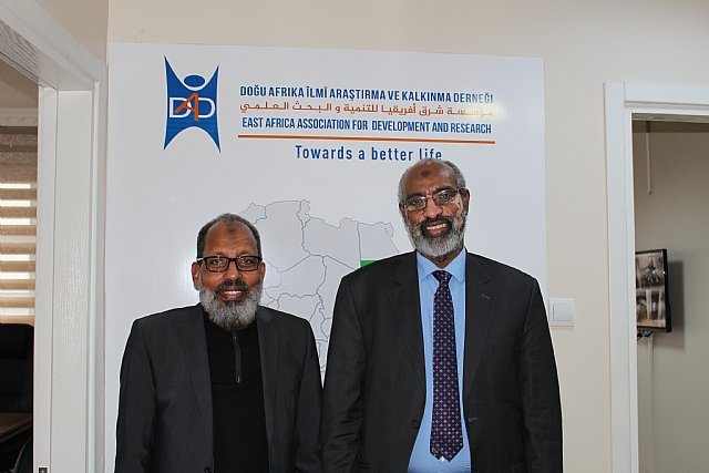 Senior Management from Ryada and Aman Foundation Visit DAD HQ