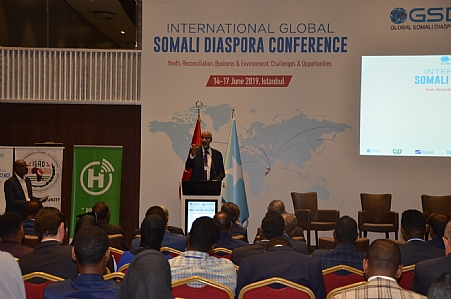 The 5th Global Somali Diaspora Confrence in İstanbul,2019