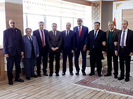 Director General of DAD Dr Ali Shekh Ahmed Attended the International Universities Council Executive Meeting