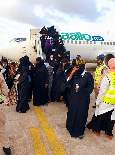 Somali Government evacuates 133 stranded citizens from Uganda
