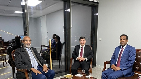 Director General met a senior advisor to the Republic of Turkey